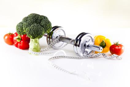 Fitness diet, vitamins